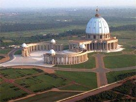 The Basilica of Our Lady of Peace of Yamoussoukro, Ivory Coast