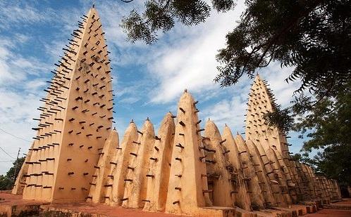 Bobodioulasso Mosque, Burkina Faso