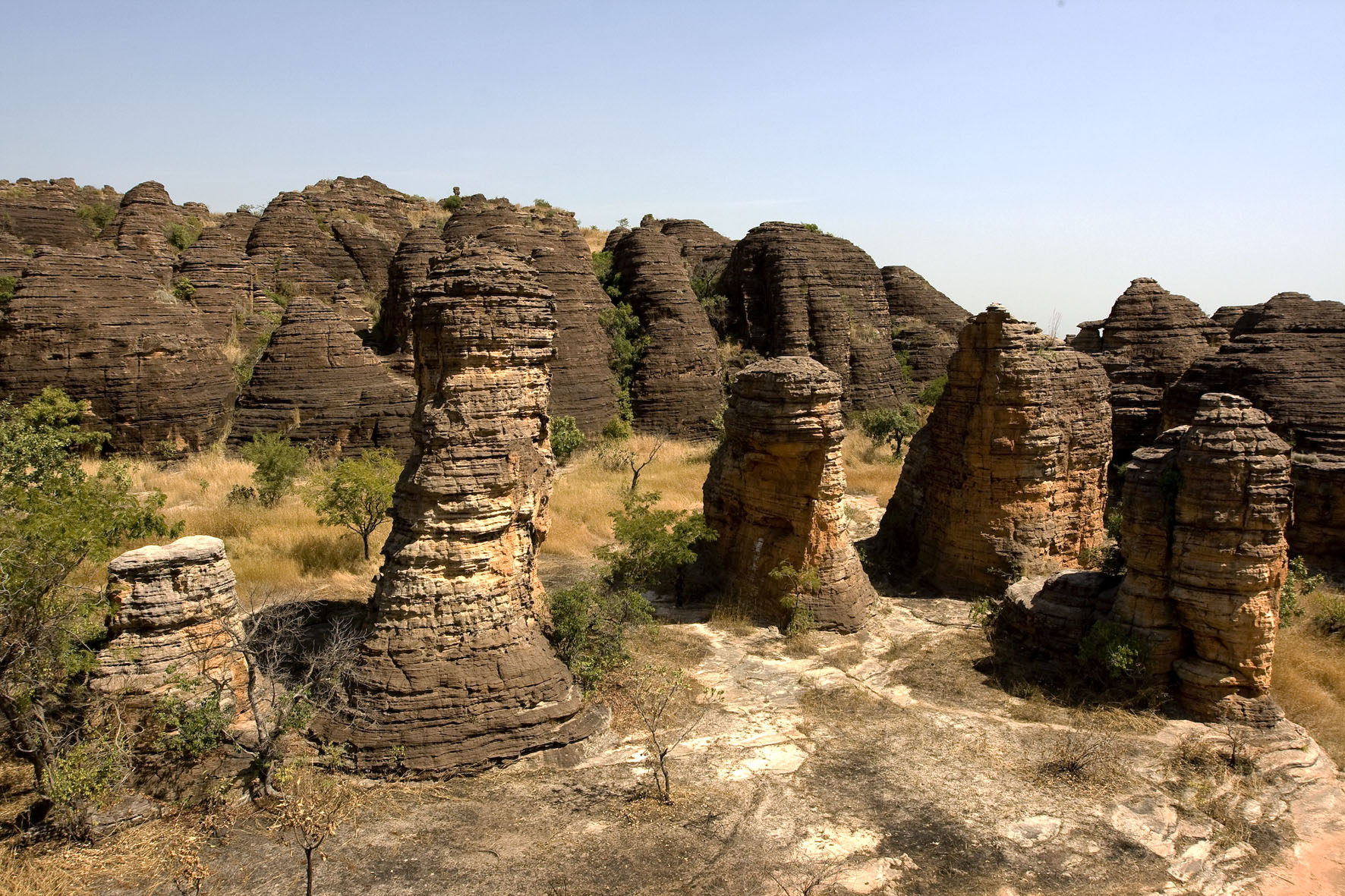 Domes of Fabedougou, Burkina Faso