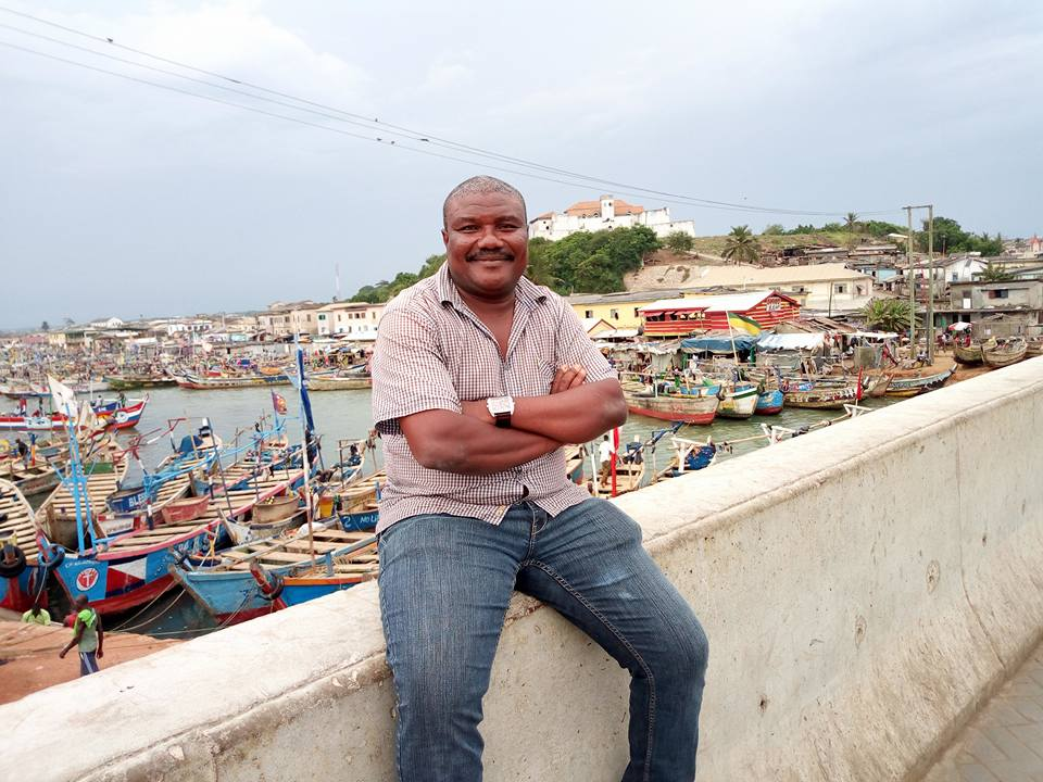 Guide & Owner Momo, Elmina Fishing Harbor, Ghana.