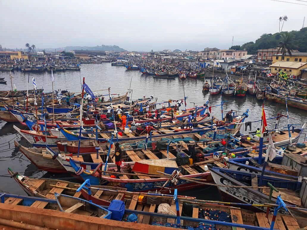 Elmina Fishing Harbor, Ghana