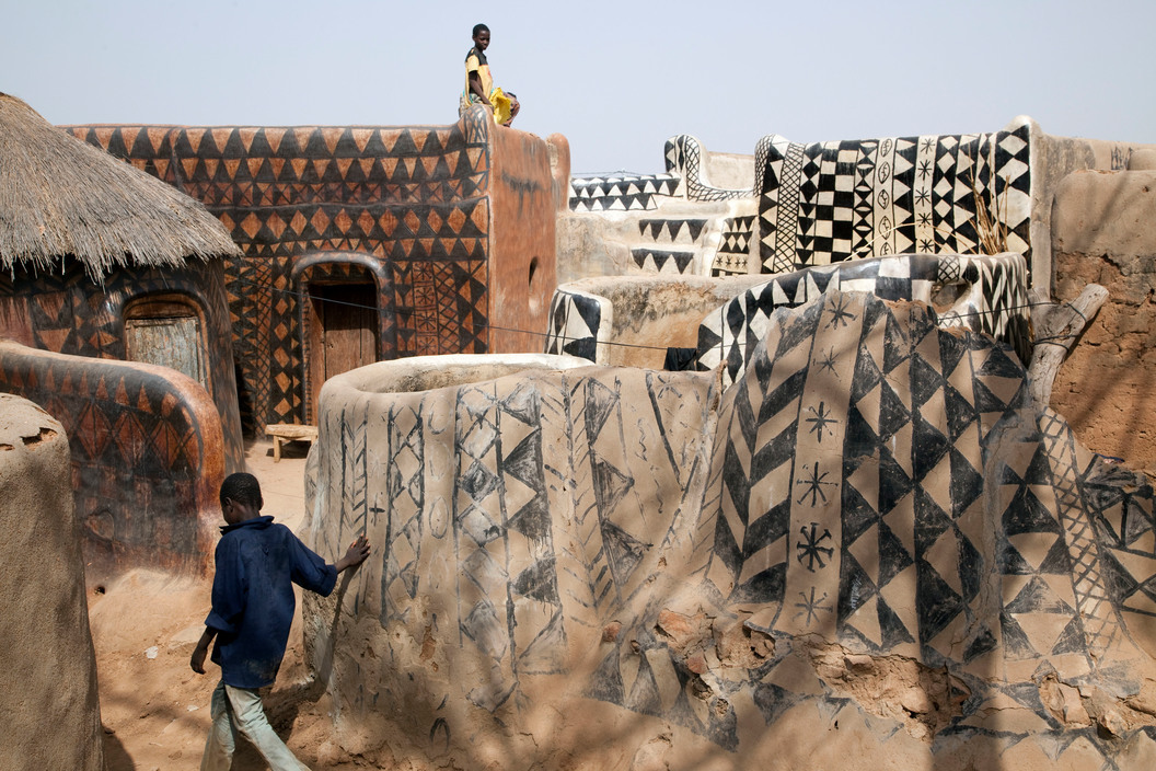 Gurunsi Houses Ghana