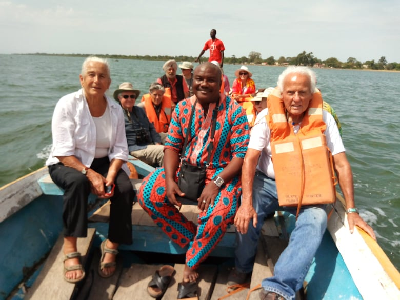 Tour Group On Boat
